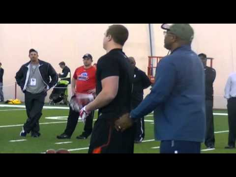 Tyler Kroft Cincinnati Bengals Workout
