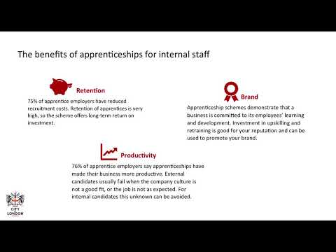 Hiring an apprentice from within your business