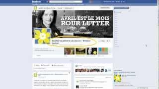 Comment installer la jonquille virtuelle sur votre profil Facebook