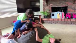 Dog Pile FUN - with the Petersen's