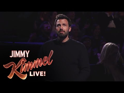 Ben Affleck Stays Loyal to Jimmy Kimmel
