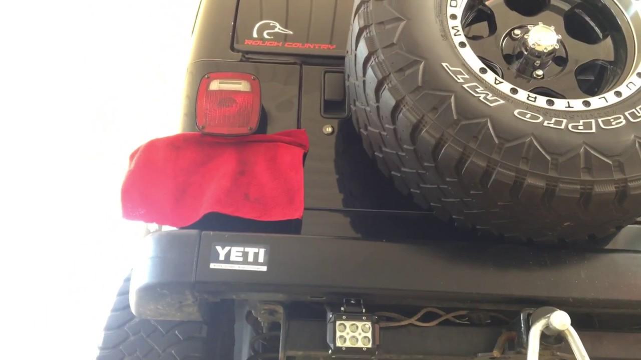 jeep wrangler extra led reverse light Jeep Wrangler TJ Engine Swap