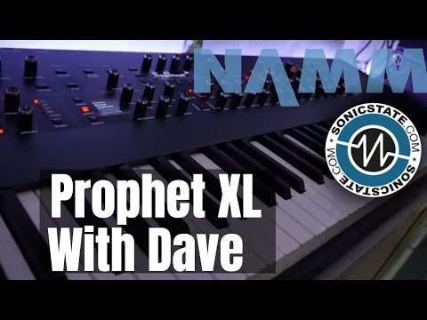 NAMM 2019: Sequential Prophet XL - Dave Smith Takes Us Through