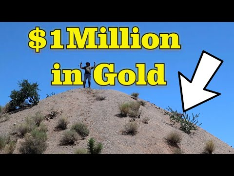 $1 Million In Gold Nuggets In Pile Of Dirt |  Recovered With Gyro Gold - Ask Jeff Williams
