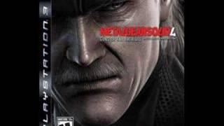Metal Gear Solid 4 OST  - Love Theme (Full)