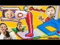 Fantastic Gymnastics Challenge!  Losers Eat Baby Shawn Poop Diaper?  Funnel Vision Flips & Fails Fun video