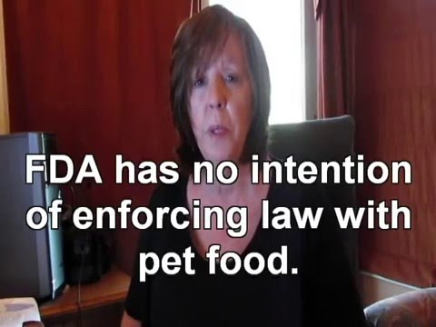 FDA's Lack of Enforcement of Law with Pet Food