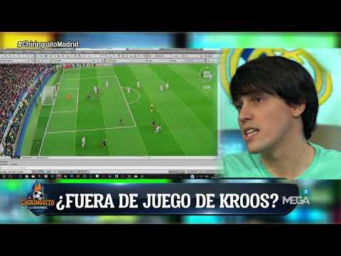 Ojo kroos estaba en fuera de juego en el penalti de lo for En fuera de juego