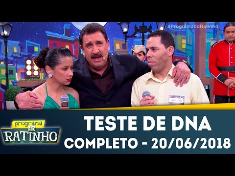Teste De DNA - Completo | Programa Do Ratinho (20/06/2018)