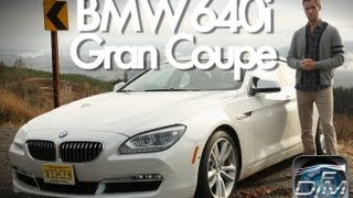 DownForce Motoring: 2013 BMW 640i Gran Coupe Review