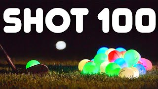 Glow Golf Hole In One Challenge At 2:50 AM | GM GOLF