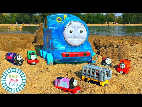 Thomas The Tank Engine At The Beach Compilation