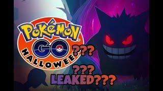 Pokémon Go Halloween Event Leaked