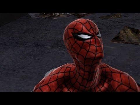 Spider-man Web of Shadows Symbiote Vulture Gameplay Part 1