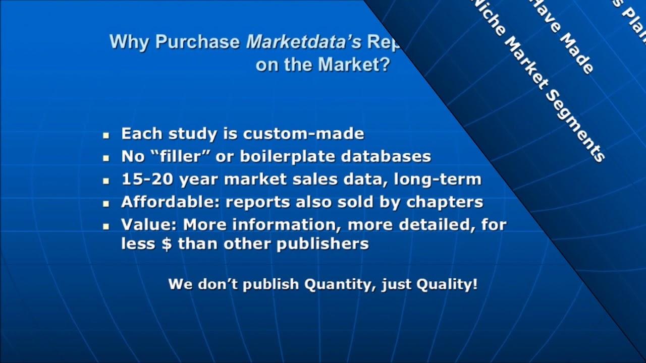 Welcome to Marketdata Enterprises