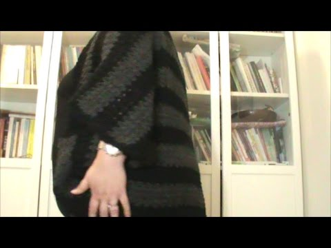 5bc4620fe83a Πλεκτή ζακέτα σαν μπολερό (διαφορετικό ράψιμο) - YouTube