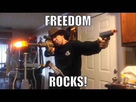 Gun Control, Toy Gun Packing Parent has EPIC FAIL with Kids Toys