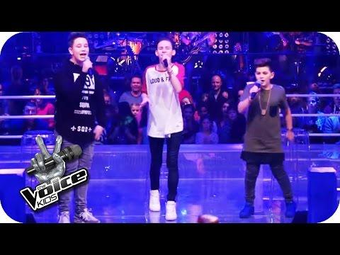 Justin Bieber - Love Yourself (Ridon, Robin, Merdan) | The Voice Kids 2016 | Battles | SAT.1
