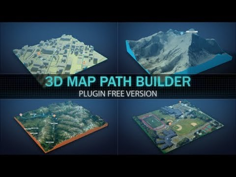 3d map path builder after effects template youtube 3d map path builder after effects template gumiabroncs Image collections