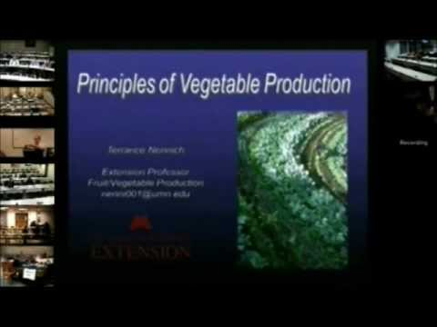 Local Foods College - Vegetable Production
