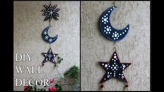 DIY wall hanging   wall decor using waste cardboard box  Best out of waste