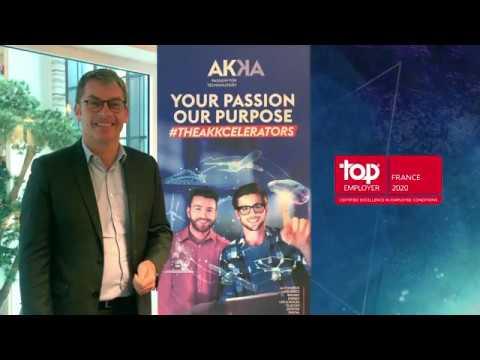 AKKA certifié Top Employer pour la 5ième année