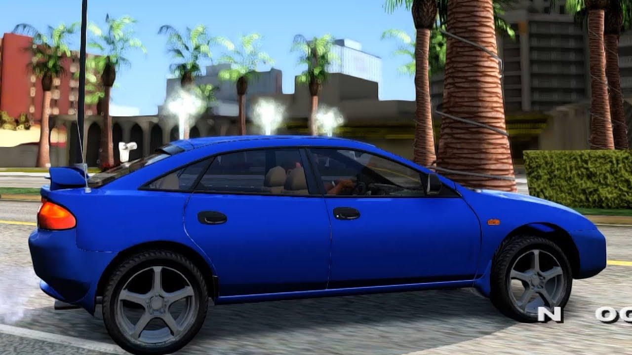 Mazda 323F BG 1.6 16v - YouTube