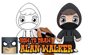 How to Draw Alan Walker (Art Tutorial)