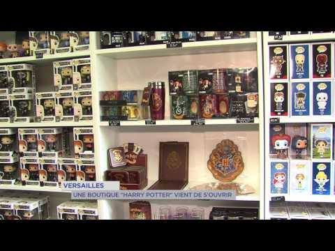 Insolite : une boutique Harry Potter à Versailles