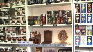 insolite une boutique harry potter versailles tv78 la cha ne des yvelines. Black Bedroom Furniture Sets. Home Design Ideas
