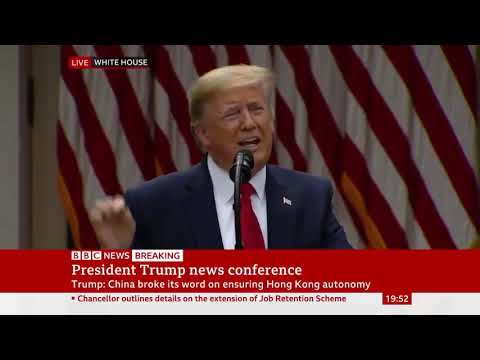 Trump: 'We Are Terminating Relationship With WHO' - BBC News