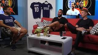 Fotbolls VM - Bronsmatchen England vs Belgien, VM-Panelen