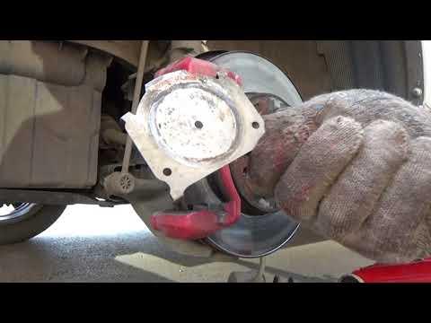 Замена тормозных дисков Kia Rio III