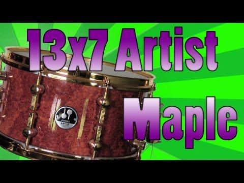 13x7 Sonor Artist Amboina Snare Drum - Snare Pimp Project Volume 21