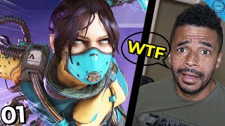 The BEST, WORST and Most UNUSUAL Plays In Apex Legends! | BWAMU #1
