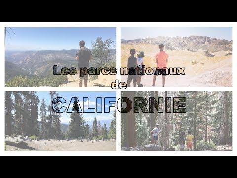 À la conquête des parcs nationaux de Californie