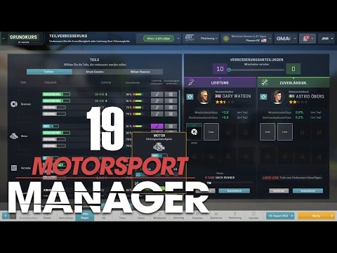 Motorsport Manager - GT Series [19] - Motortuning für Phoenix [Deutsch/German]
