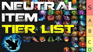 Ranking all 58 neutral items in Dota 2