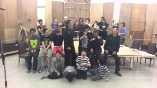 2014年4月6日・青山劇場 ・出演:橋本さとし、真琴つばさ、昆夏美、柳下...