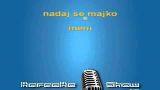Karaoke SABAN SAULIC   RASIRI RUKE O MAJ...