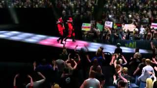 Road Warriors Hawk   Animal make their entrance in WWE