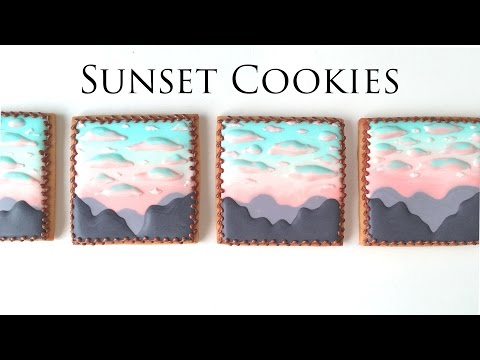 Sunset Cookies