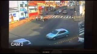 Acidente de moto em Botucatu