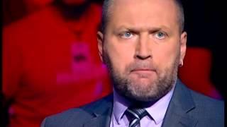 Борислав Береза успокаивает разбушевавшихся политиков на ток-шоу