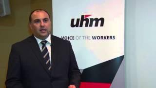 UHM   Reazzjoni għall Baġit 2016