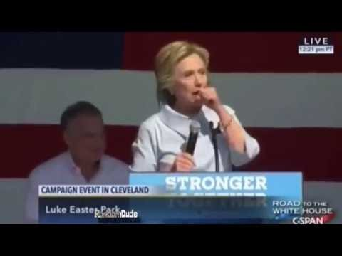 Hilary Clinton Knows How To Get A Party Started (Edit)