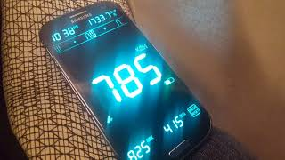 jaka prędkość lotu mierzymy telefonem Samsung Galaxy