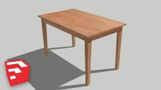 Sketchup 8 Lessons: Making Detailed Objects