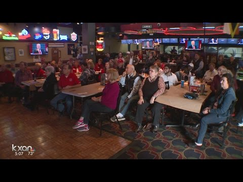 Williamson County Republicans hold watch party to watch inauguration