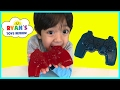 Gummy Food Controller Candy for Kids Taste Test! Family Fun Lego Gummy Candy Review Ryan ToysReview